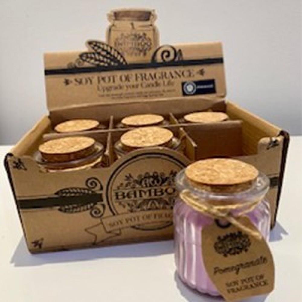 Soy Pot Fragranced Candles